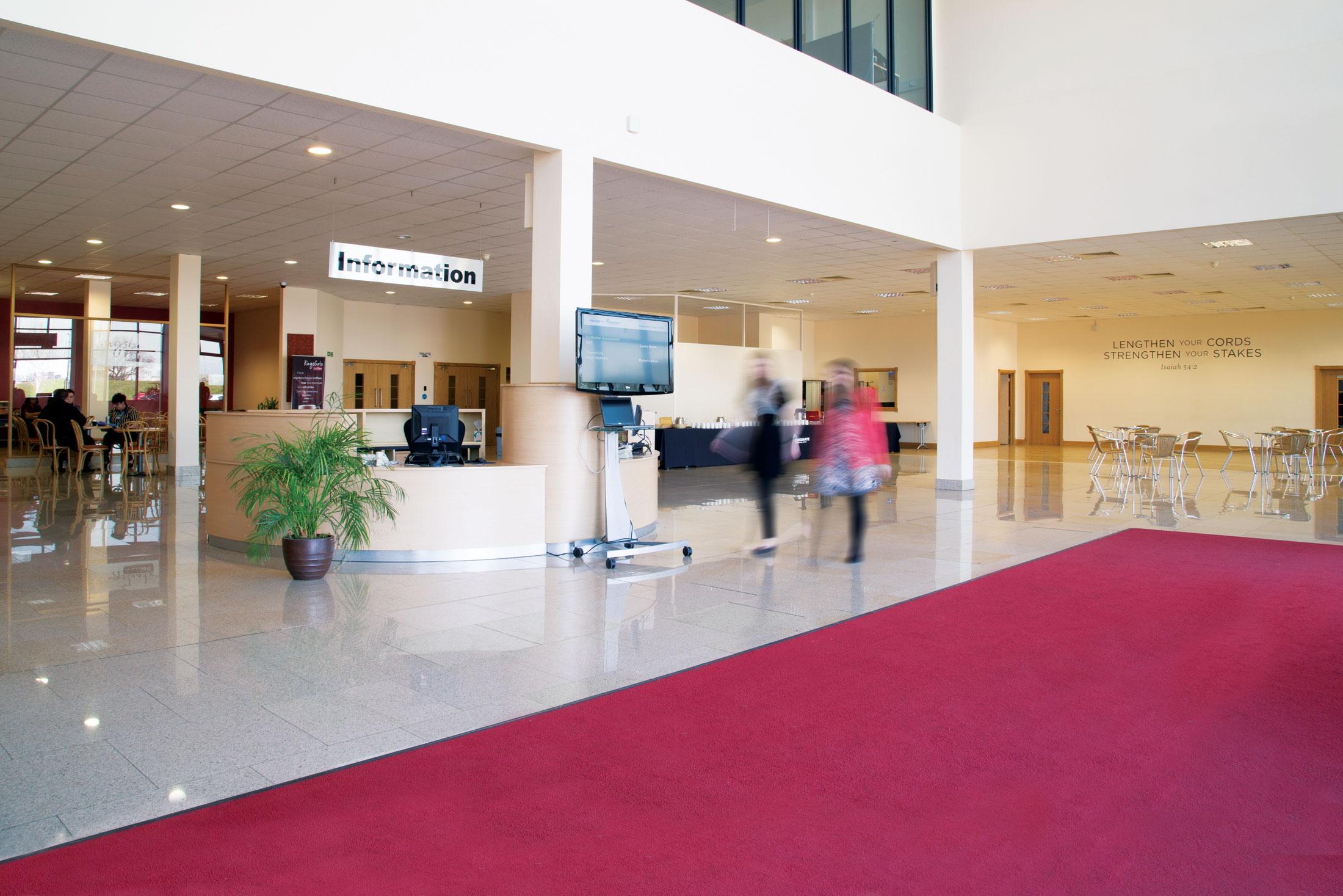 Kingsgate Conference Centre's spacious Atrium
